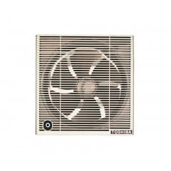 Toshiba Bathroom Ventilating Fan Size 25cm with Brown & Off White Colors: VRH25S1