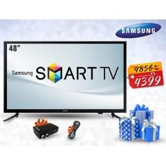 """Samsung LED 48"""" TV Full HD Smart Wireless + Gift: 48J5200"""