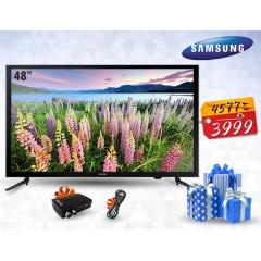 """Samsung TV 48"""" LED Full HD 1080p + Gift: 48J5000"""