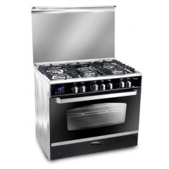 UnionTech iCook Smart 5 burner Full Safty with Fan 90x60 Touch Control: C6090SS-DC-511-IDSC-S