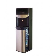 Carino Water Cooler 3 Taps Bottom Loading Stainless Steel: LWYR71T