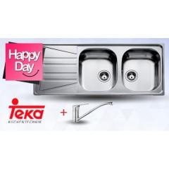 Teka (tekaway) Kitchen Sink & Tap & Soap Dispenser  Basico 2B 1D