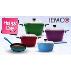 IEMCO Kitchen Set 3 Pots and 2 Pans Anti-Sticking: IEMCO5