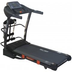 Sprint Electric Treadmill For 130 Kg With AC Motor Digital Display + Vibration Unit + Twister board + Set up Bench: GW7075A/4