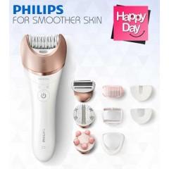 فيليبس أداة نزع الشعر للسيدات متعددة الاستخدامات للساقين و الجسم و الوجه BRE650