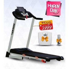 SPRINT Electric Treadmill Blue back-lite LCD Max User Weight 100 kg: GW6060