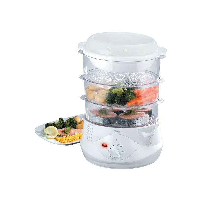 Small Food Steamer ~ Kenwood tier food steamer fs cairo sales stores