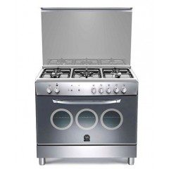 La Germania Gas Cooker 5 Burner Full Safety Stainless: DO95C31X