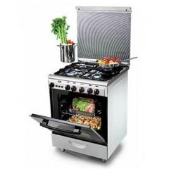 KIRIAZI Gas oven 60*60 4 burner Color : 6400