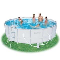 بيست واي حمام سباحة دائري بالحواف العالية 19480 لتر POOL 56266