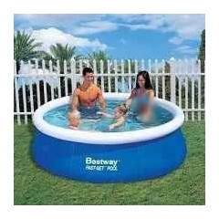Bestway Swimming Pool 2300 Liter Circular Fast Set Pool: 57008