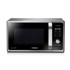 Samsung Microwave 28 Liter With Grill Silver: MG28F301TAS