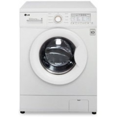 LG Washing Machine 7kg With 6 Motion Technology White: F10B9QDT2