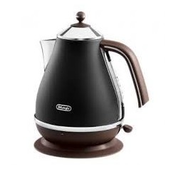 Delonghi Kettle 1.7 Liter 3000 Watt Black: KBOV2001.BK