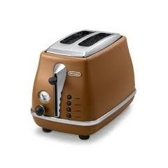 Delonghi Toaster 900W Brown Color: CTOV2003.BW