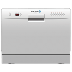 Countertop Dishwasher Korea : White Whale Dish Washer 10 Person Digital: DW-1080MS - Cairo Sales ...