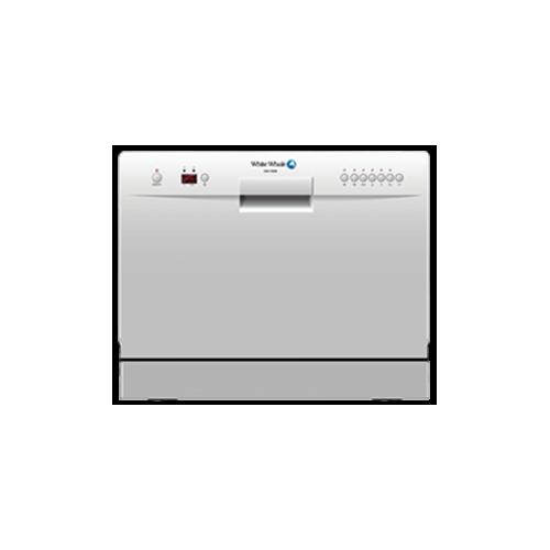 Large Countertop Dishwasher : Dishwashers > White Whale Dishwasher Countertop 6 Person Set Silver ...