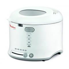 Moulinex Fryer Uno - 1800W, 1Kg, Fixed Bowl, WhiteAF123111