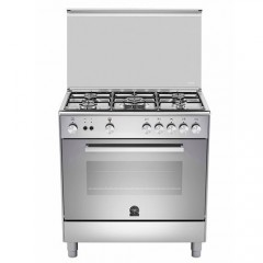 La Germania Cooker 5 Burner 80*50 Full Safety Stainless Steel: TU85C31DX