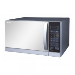 Sharp Microwave 25 Liter With Grill Silver Color: R-75MR(S)