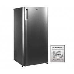 LG Refrigerator 8 Feet Defrost 1 Door Silver: GN-Y201SLC