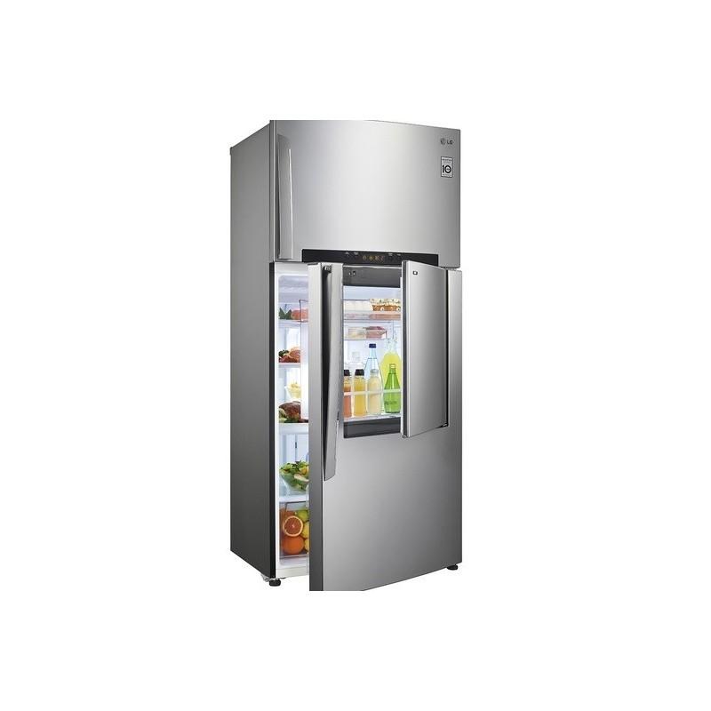 Lg refrigerator 23 feet door in door digital silver gn for Lg door in door fridge