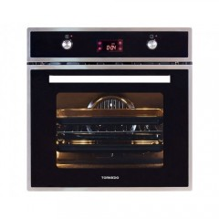 Tornado Gas Oven 60 cm With Electric Grill Stainless Steel Digital: OV60GDFFS-2