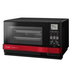 Sharp Microwave 27Liter With Steam Black and Silver: AX-1100(SL)M