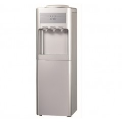 Voltino Water Dispenser 3 Taps  With Fridge Silver Color: YLR-5L(1006B)