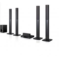 LG Home Theater DVD Player 5.1ch 1000 Watt Bluetooth: LHD655