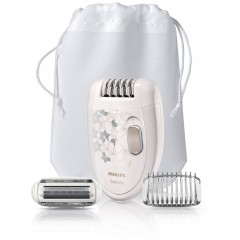 Philips Satinelle Epilator Legs & body with shaving head: HP6423/00