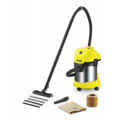 Karcher Wet & Dry Vacuum Cleaner 1400 Watt with Metal Container: ًMV3 PREIMUM
