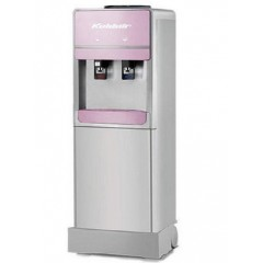 Koldair Water Dispenser 2 SPIGOTS COLD/HOT Silver & Rose: KWD9.2