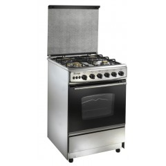 Union Tech 4 burner 55*55 Stainless: C5555SS-191-L