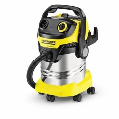 Karcher Multi-Purpose Wet/Dry Vacuum Cleaner 1800 Watt 25 Lt Stainless: MV5 Premium