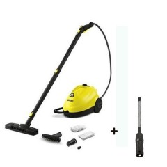 Karcher Steam Cleaner 1500 Watt +Textile Care Nozzle With Integrated Lint Remover For Steam Cleaners: SC2