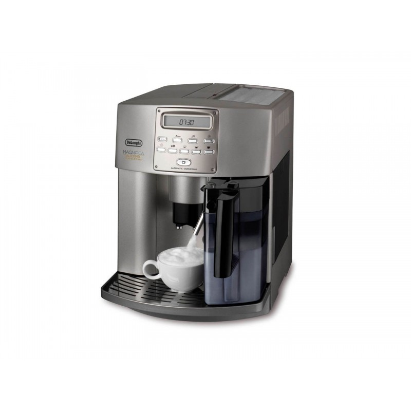 Philips Coffee Maker Bean To Cup : Delonghi Coffee and Cappuccino Maker Bean to Cup: Magnifica ESAM3500 - Cairo Sales Stores