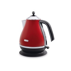 Delonghi Kettel 1.7 Liter Red: Icona KBO 2001.R