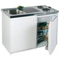 موقد مطبخ متكامل بشعلتين للطهي و حوض استنليس بالكامل  HSK120/60 K 70 RE SINI HOI