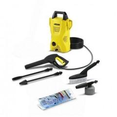 كارشرغسالة عالية الضغط لتنظيف المنزل و السيارة 1.4 كيلو وات + عدة تنظيف السيارة K2 Compact+CarKit