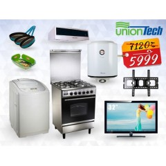 Spring Marriage Package 2015 Refrigerator Washing Machine Heater Oven Dishwasher and Blender