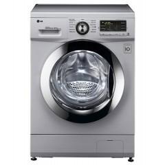 LG Washing Machine 8 Kg Silver: F1496td24