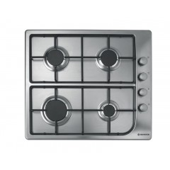 Hoover Built-In Hob Gas 60cm 4 Burners Stainless Steel: HGL64SX