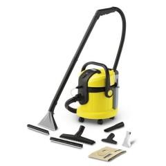 Karcher 3x1 Hard Floor & Carpet Cleaner & Vacuum 1400 Watt + Gifts: SE4002