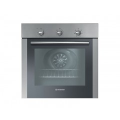 Hoover Electric Oven 60cm Stainless Steel with Convection Fan and Grill: HOC1060/6X