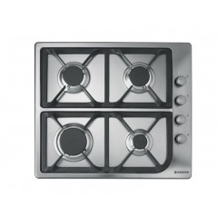 Hoover Built-In Hob Gas 60cm 4 Burners Stainless Steel: HGL64SCX