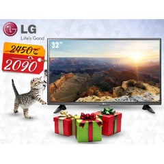 "LG  32"" LED HD 720p TV With Built-in HD Reciever + Gift: 32LH512U"