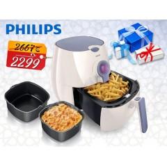 Philips AirFryer Healthier Oil-Free Fryer: HD9225/50