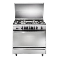Universal 5 burners gas cooker,Self ignitions,safety,Internal light  8905 NBF-ST