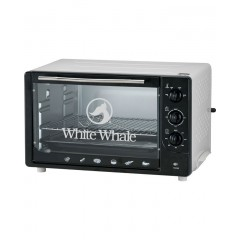 White Whale Electric Oven 45 Liters White Color: WO-07A